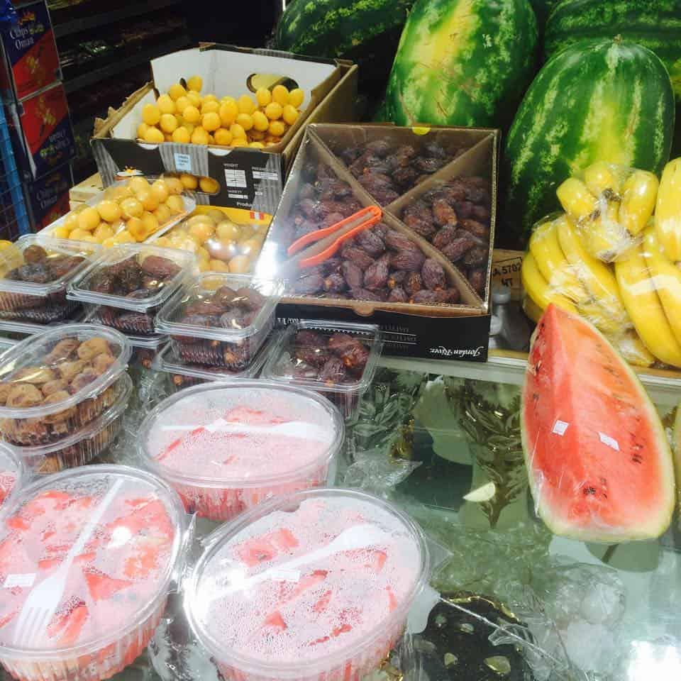 Fruit and Veg at Edgeware Road