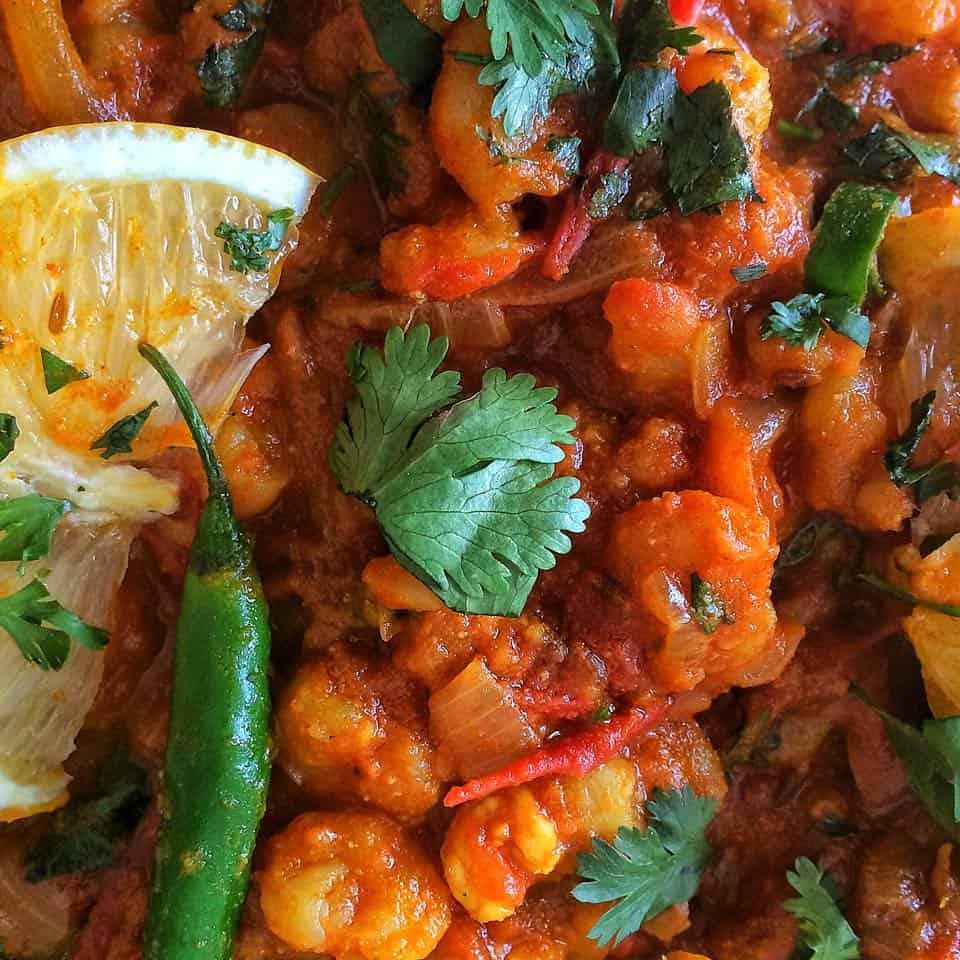 Prawn Masala Curry - Fatima Cooks