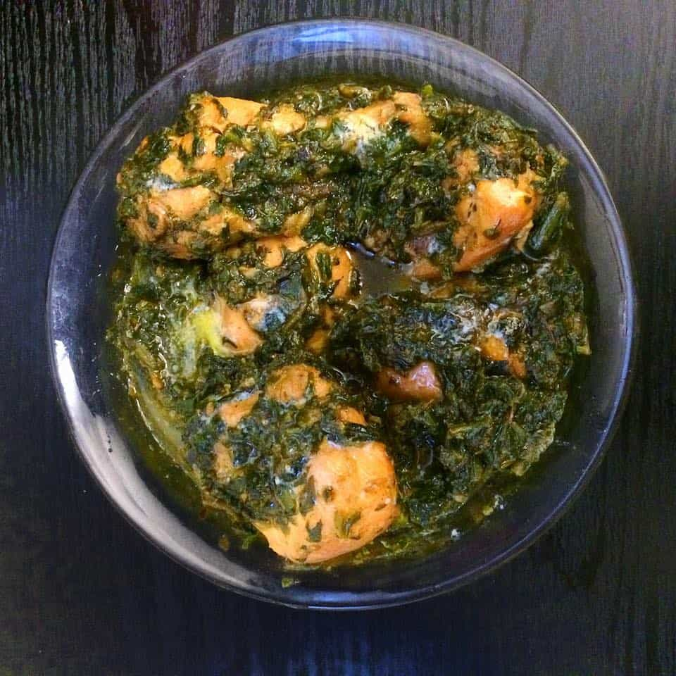 Palak Murgh - Chicken and Spinach Curry by Fatima Cooks