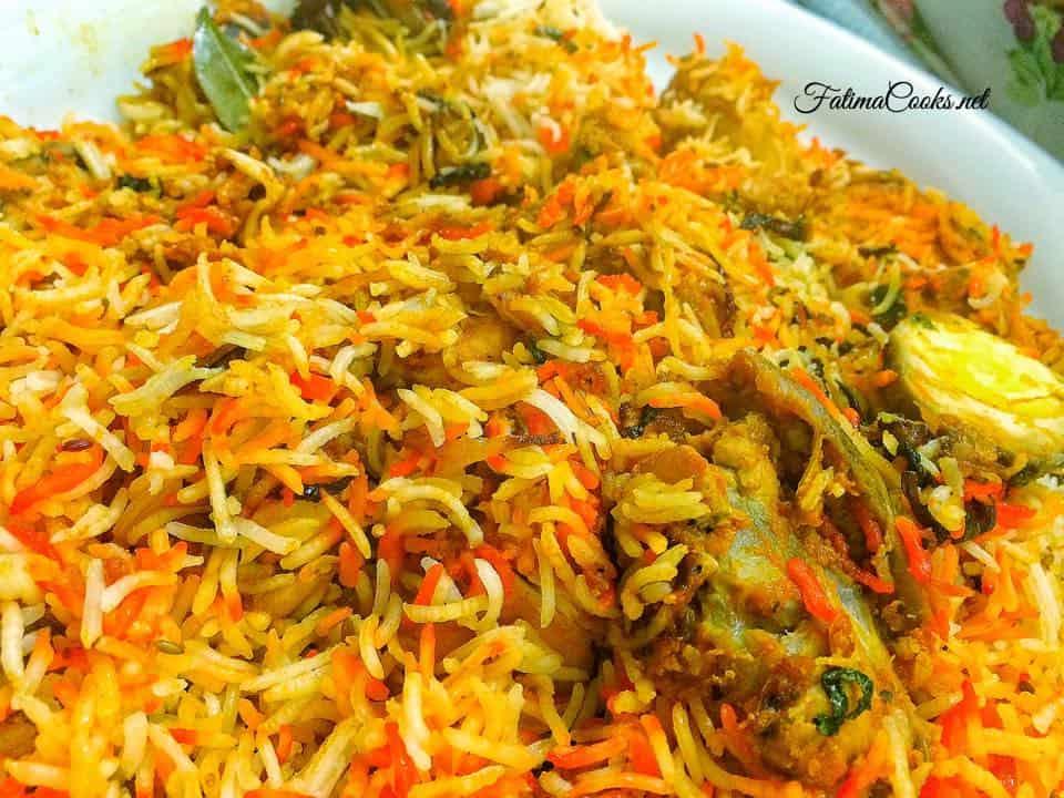 Leftover Curry Biryani