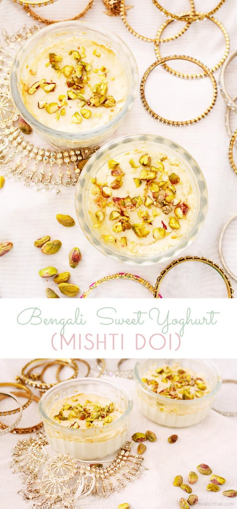 Mishti Doi - Bengali Sweet Baked Yogurt - Guest Post by Abida From The Red Lychee